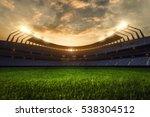 3d render emptry stadium... | Shutterstock . vector #538304512