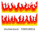 fire flames graphic is an... | Shutterstock .eps vector #538318816