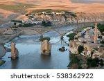 historical city hasankeyf view. ... | Shutterstock . vector #538362922