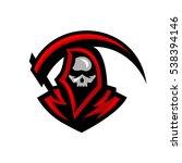grim reaper | Shutterstock .eps vector #538394146