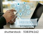 web design  technology concept