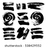 black grungy vector abstract... | Shutterstock .eps vector #538429552