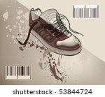 half boot | Shutterstock .eps vector #53844724