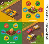 agricultural machinery 4... | Shutterstock . vector #538465168