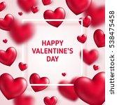 valentine's day concept. vector ...   Shutterstock .eps vector #538475458