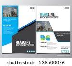 abstract vector modern flyers... | Shutterstock .eps vector #538500076