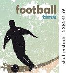 football poster | Shutterstock .eps vector #53854159