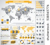 energy resources icon set and... | Shutterstock .eps vector #538565776