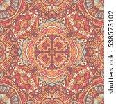 abstract geometric mosaic... | Shutterstock . vector #538573102