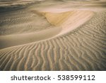 amazing desert view in sunset... | Shutterstock . vector #538599112