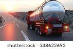 gasoline tanker  oil trailer ... | Shutterstock . vector #538622692