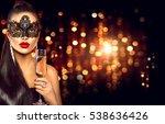 beauty glamour woman... | Shutterstock . vector #538636426
