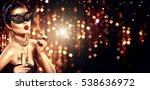 beauty glamour woman... | Shutterstock . vector #538636972