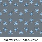 abstract seamless geometries... | Shutterstock .eps vector #538662592