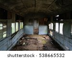 abandoned old wagon. the... | Shutterstock . vector #538665532