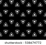 geometric shape abstract vector ... | Shutterstock .eps vector #538674772