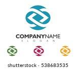 business corporate logo template | Shutterstock .eps vector #538683535