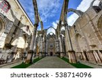 the convent of our lady of... | Shutterstock . vector #538714096