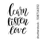 vector lettering illustration.... | Shutterstock .eps vector #538716352