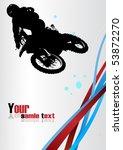racing vector. clip art | Shutterstock .eps vector #53872270