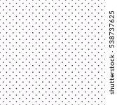 seamless polka dots pattern... | Shutterstock .eps vector #538737625