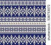 nordic pattern illustration | Shutterstock .eps vector #538753072