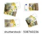 Set 5 Euro Banknotes Are In...