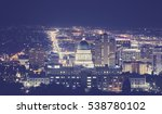 vintage toned night picture of... | Shutterstock . vector #538780102