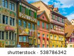 stein am rhein  switzerland ... | Shutterstock . vector #538786342
