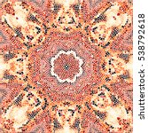 mosaic colorful pattern for... | Shutterstock . vector #538792618