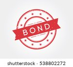 bond. stamp sign | Shutterstock .eps vector #538802272