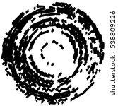 grunge stamp draft mockups of... | Shutterstock .eps vector #538809226