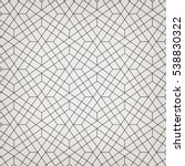 seamless linear pattern with... | Shutterstock .eps vector #538830322
