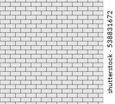 seamless brick wall background. ... | Shutterstock .eps vector #538831672