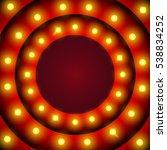 retro design element circle... | Shutterstock .eps vector #538834252