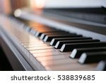 piano keys | Shutterstock . vector #538839685