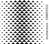 abstract monochrome geometric... | Shutterstock .eps vector #538855522