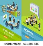 business learning isometric... | Shutterstock .eps vector #538881436