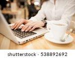 woman laptop | Shutterstock . vector #538892692