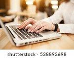woman laptop | Shutterstock . vector #538892698