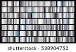 silver gradient background... | Shutterstock .eps vector #538904752