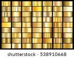 Gold Gradient Background Vecto...