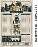 Coffee House Menu For A Price...