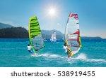 windsurfing | Shutterstock . vector #538919455