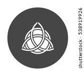 triquetra | Shutterstock .eps vector #538919926