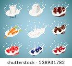 set of realistic vector...   Shutterstock .eps vector #538931782