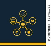 infographic template. family... | Shutterstock .eps vector #538961788