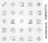 veterinary icons or logo...