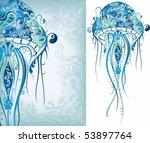 sea animal 1   Shutterstock .eps vector #53897764