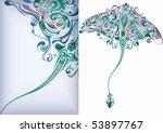 sea animal 2 | Shutterstock .eps vector #53897767